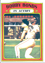 1972 Topps Baseball Cards      712     Bobby Bonds IA